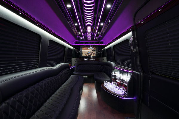 12 Passenger Party Buses Philadelphia
